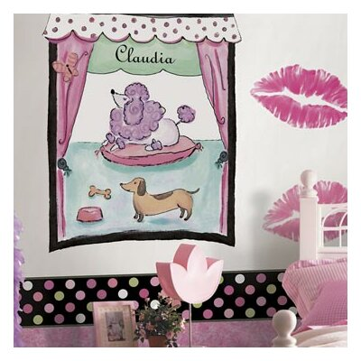 4 Walls Whimisical Wall Borders Candy Polka Dot Wallpaper Border
