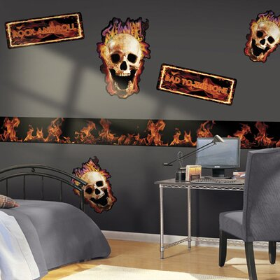 4 Walls Fired Up! Freestyle Wall Decal
