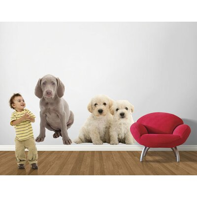 4 Walls Puppy Love Weimaraner Wall Decal