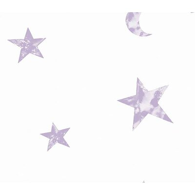 4 Walls Whimsical Children's Vol. 1 Star Wallpaper in Purple