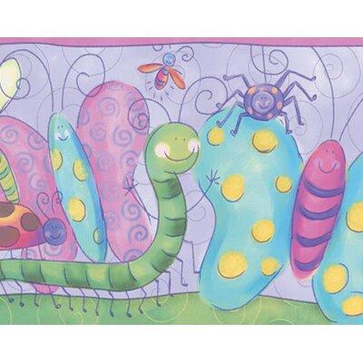 4 Walls Bugs Free Style Wallpaper Border