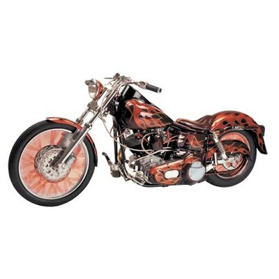 4 Walls Motorcycle Wall Decal