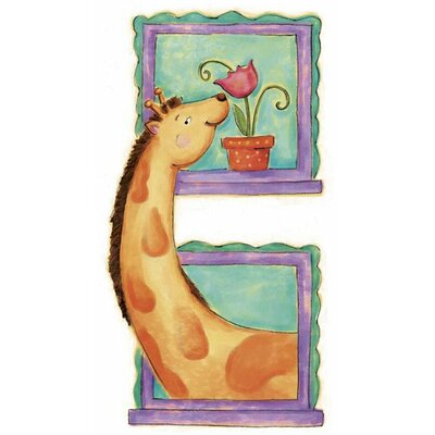 4 Walls Giraffe Panel Wall Decal