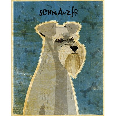 4 Walls Top Dog Schnauzer Wall Decal