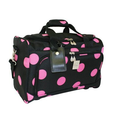 Jenni Chan Dots 12&quot; City Travel Duffel