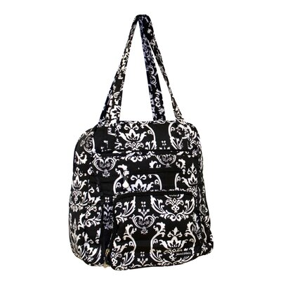 Damask Soft Gym Tote