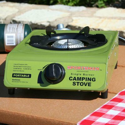 Buffalo Tools Sportsman Camping Single Gas Stove