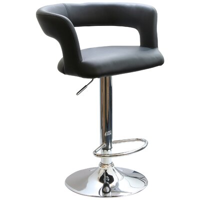 "Buffalo Tools AmeriHome 24"" Adjustable Swivel Bar Stool with Cushion"
