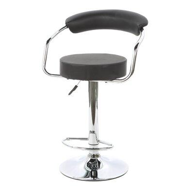 "Buffalo Tools 23.5"" Adjustable Swivel Bar Stool with Cushion"