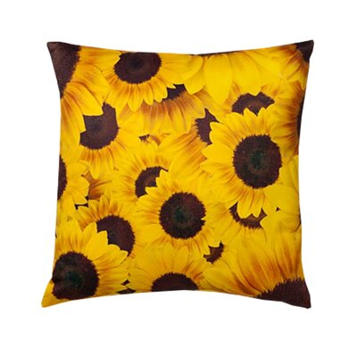 lava Sunflowers Pillow