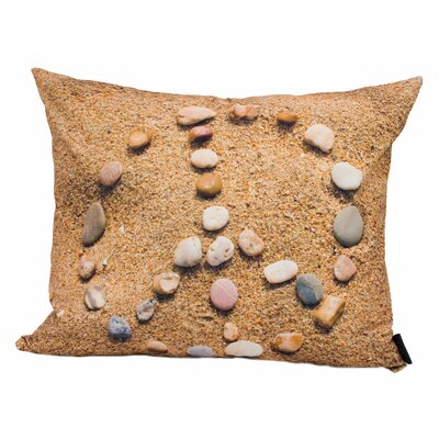 lava Peace Rocks Pillow