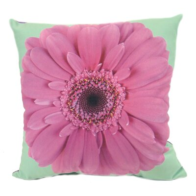 Daisy Feather Filled Pillow