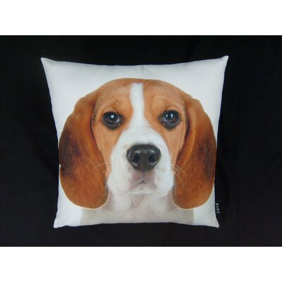 lava Beagle Pillow