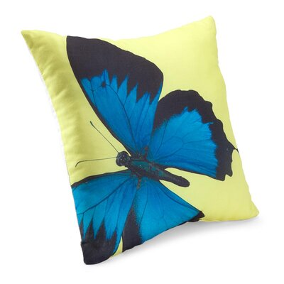 lava Social Butterfly Polyester Pillow
