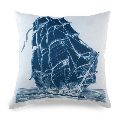 lava Lava Ship On Pillow
