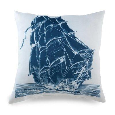 lava Lava Ship On Pillow