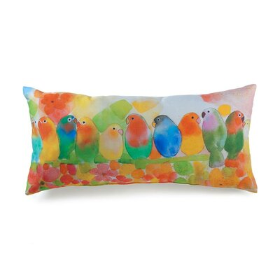 lava Lava Tropical Birds Pillow