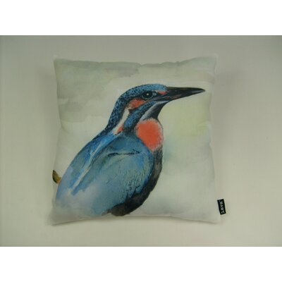 lava Lava Bird Watercolor Pillow