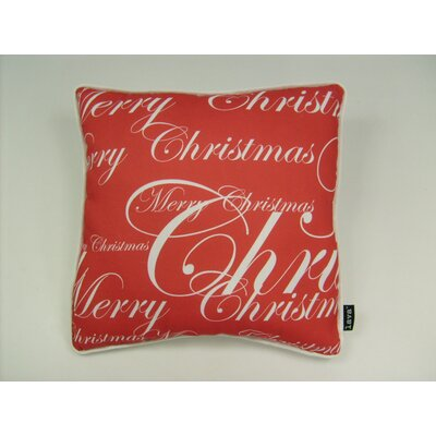 lava Lava All Over Merry Christmas Pillow