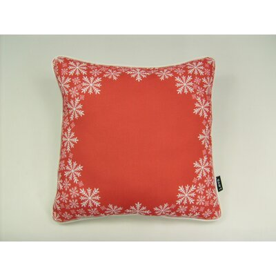 lava Lava Snowflake Border Pillow
