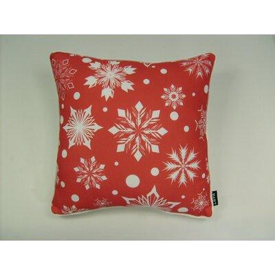 lava Lava Polka Dot Snowflake Pillow