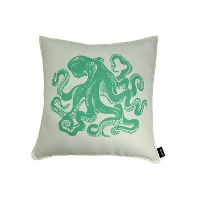 lava Octopus Polyester Pillow