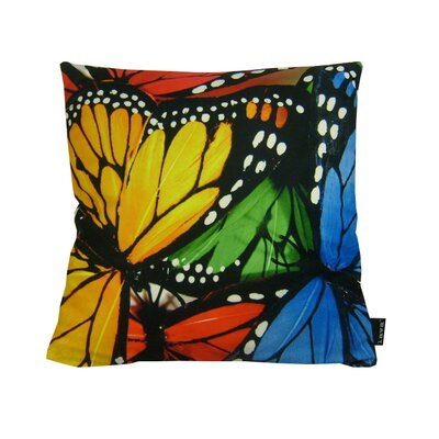 lava Butterfly Effect Polyester Pillow