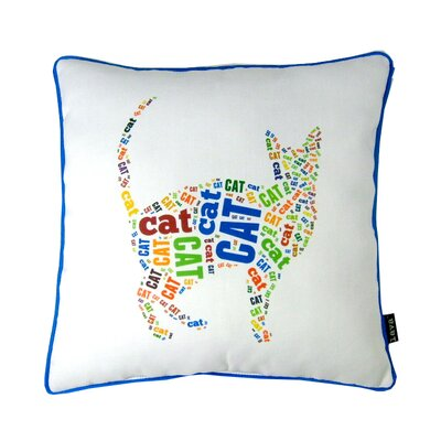 lava Spell Cat Polyester Pillow