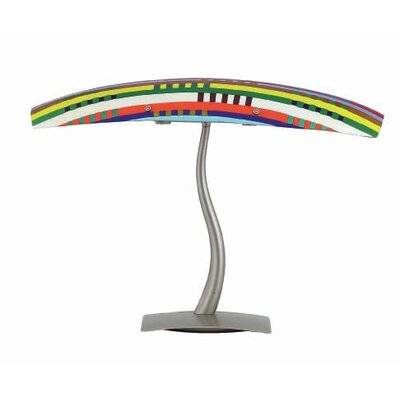 "Oggetti Mandala Durain 17.75"" H Table Lamp"