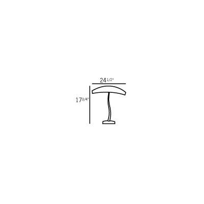 """Oggetti Mandala Fiume 17.75"""" H Table Lamp"""