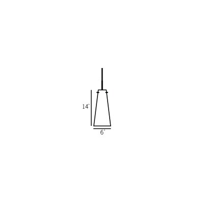 Oggetti Mosaic Small Fry 1 Light Line Voltage Pendant