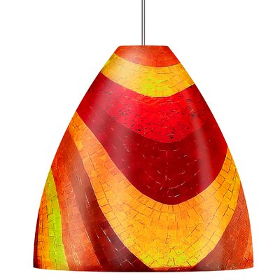 Mosaic Big Ben 1 Light Line Voltage Pendant