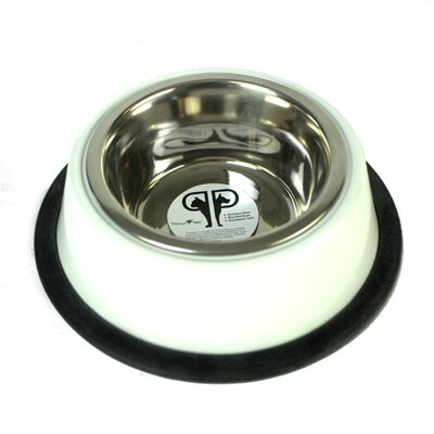 Platinum Pets Two Piece Dog Bowl with Skid Stop