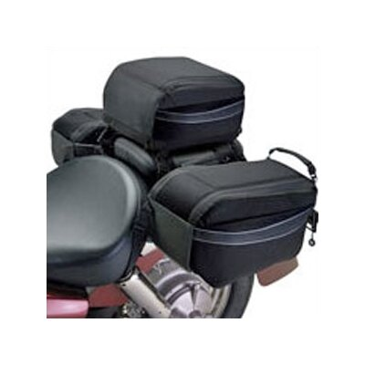 Classic Accessories Moto Gear Motorcycle Tail Bag with Optional Saddle Bags