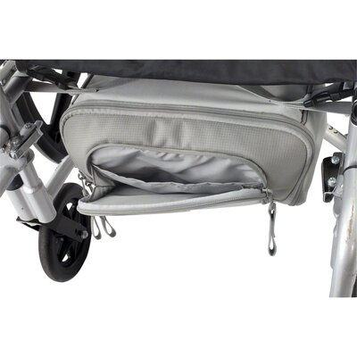 Classic Accessories Zippidy Wheelchair Under Seat Organizer in Pearl Grey and Pewter