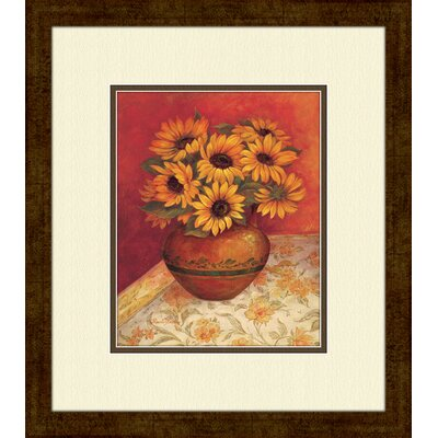 Pro Tour Memorabilia Tuscan Sunflowers A Framed Art