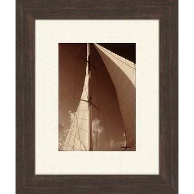 Pro Tour Memorabilia Windward Sail B Framed Art