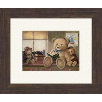 Pro Tour Memorabilia Bear Stories B Framed Art