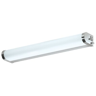 AFX Curved Profile One Light Vanity Strip in Chrome - Energy Star