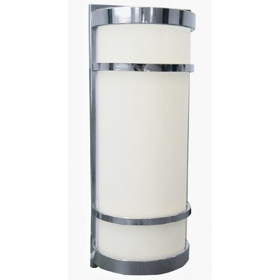 AFX Brio Half Cylinder 2 Light Outdoor Wall Sconce