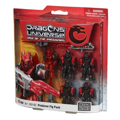 Mega Brands Dragon Universe Predavor Figure Pack