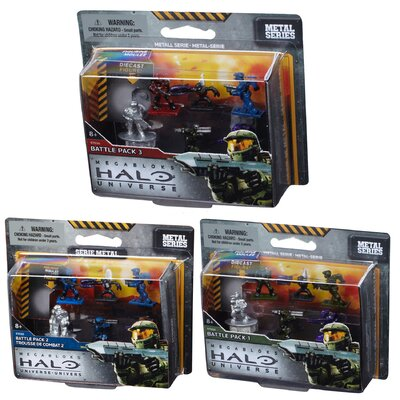 Mega Brands Halo Troop Micro Action Figures Pack