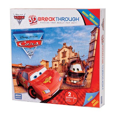 200 Piece 3D Breakthrough Cars Puzzle
