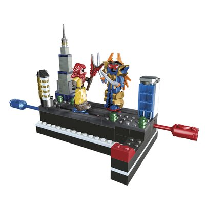 Mega Brands Power Rangers Samurai Claw Battlezord VS Mooger