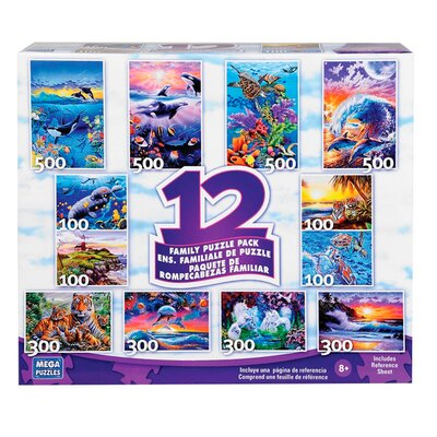 12 in 1 Multipack Puzzle