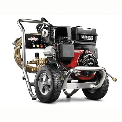 Professional 3000 PSI (Gas/Cold Water) Pressure Washer with CAT Pump