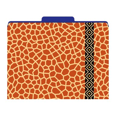 Barker Creek & Lasting Lessons Functional File Folders Giraffe