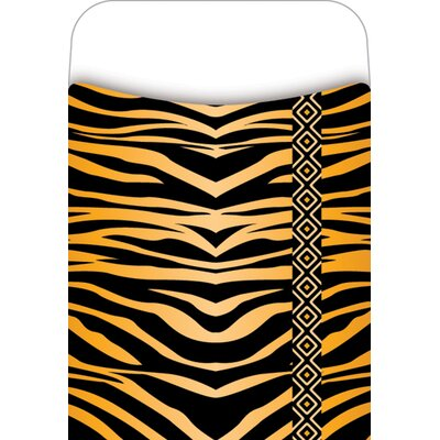 Barker Creek & Lasting Lessons Pick-a-pocket Library Pockets Tiger