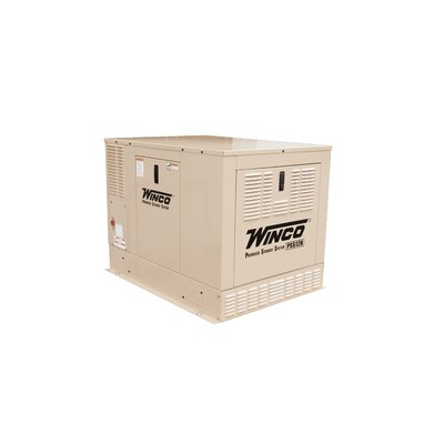 12 Kw Single Phase 120/240 V Natural Gas and Propane Double Fuel Standby Generator - ...