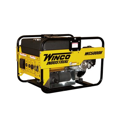 Industrial Series 5,000 Watt Portable Gas Generator - WC5000H